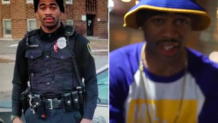 """El rap profético del policía asesino: """"Provocaré disturbios como en Baltimore"""""""