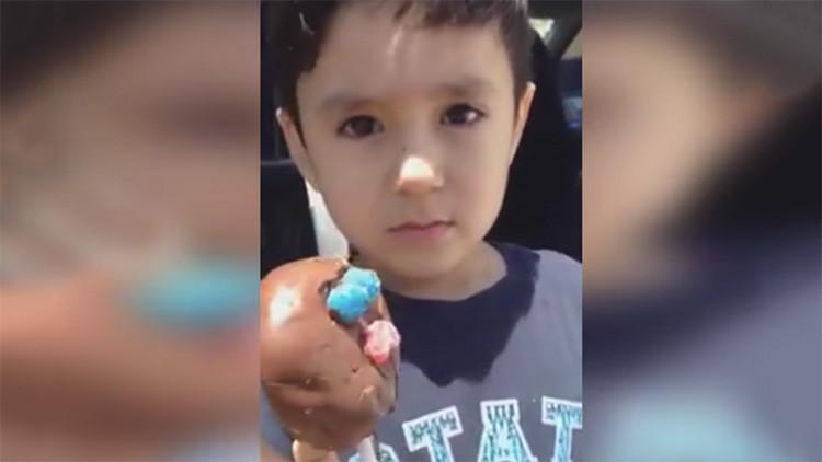 Una carita triste y un video viral: la historia con final feliz para un niño mexicano