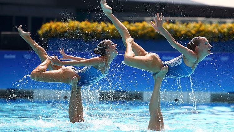 Río 2016: Oro para el equipo ruso de natación sincronizada