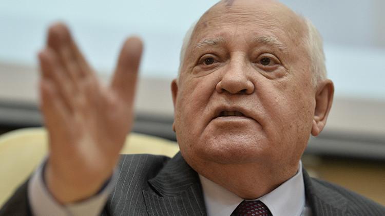 Gorbachov revela el error que provocó el Golpe de Agosto de 1991 contra la URSS