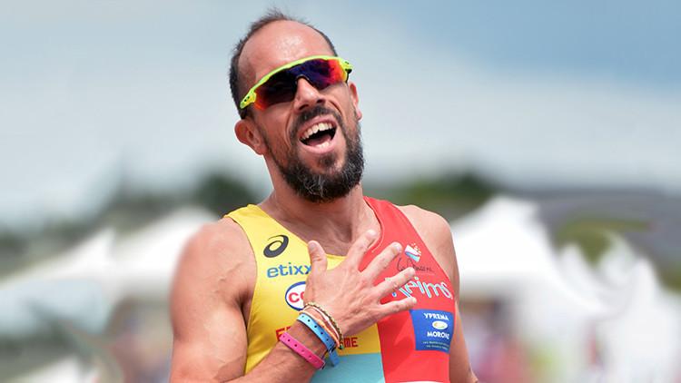 Río: El coraje de un atleta francés que termina la marcha pese a un desmayo y la diarrea