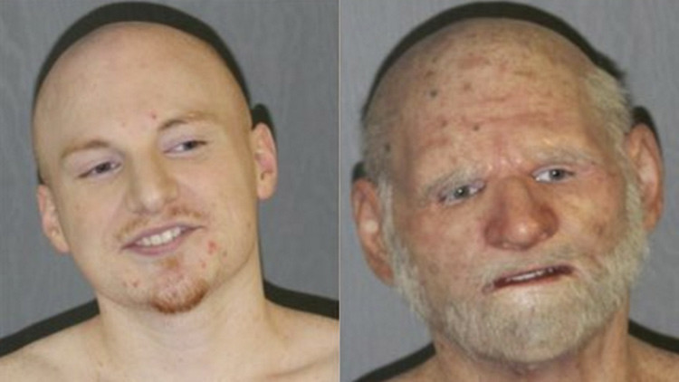 Un narco estadounidense se maquillaba para parecer un anciano y evitar ser detenido