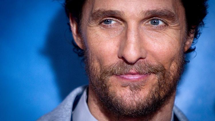 Matthew McConaughey tiene un canal secreto en YouTube que nadie sigue