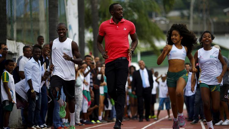 Inspirados por Usain Bolt: los talentos que esconden las favelas de Río (fotos)