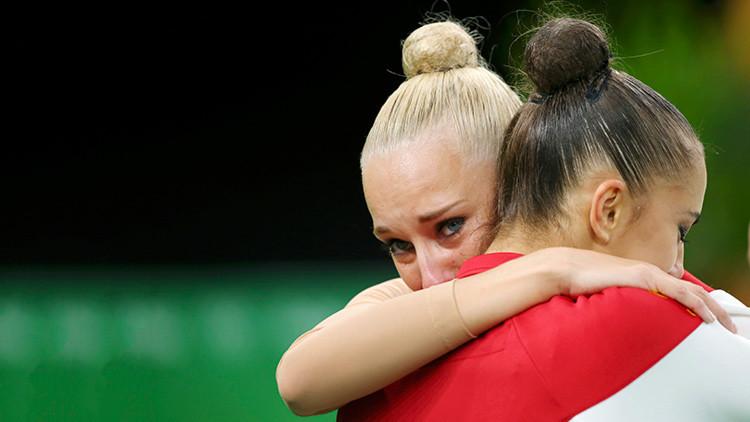 Doblete ruso: Margarita Mamún y Yana Kudriávtseva se alzan con el oro y la plata en gimnasia rítmica