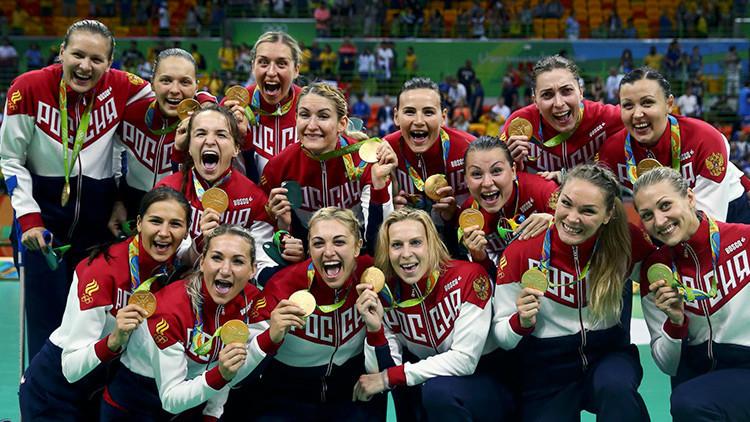 El equipo ruso femenino de balonmano gana el oro en los Juegos Olímpicos de Río