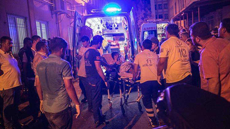 FUERTES IMÁGENES: Publican un video del atentado terrorista en una boda en Turquía