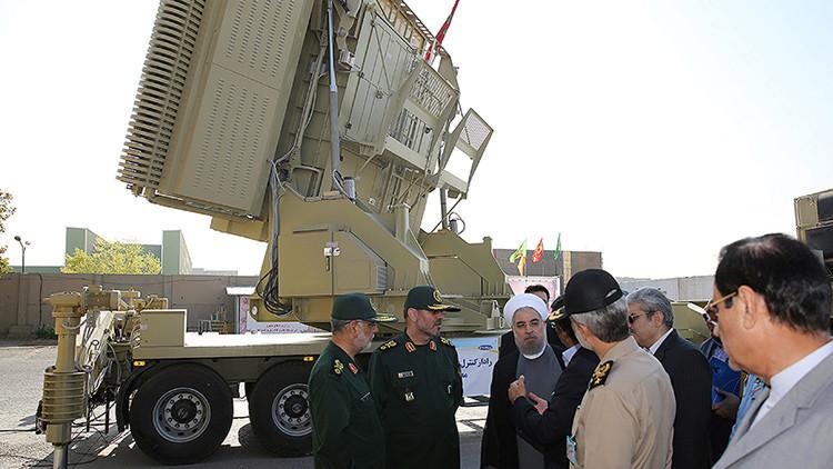 Irán desvela las primeras imágenes de su sistema de defensa antiaérea de producción propia