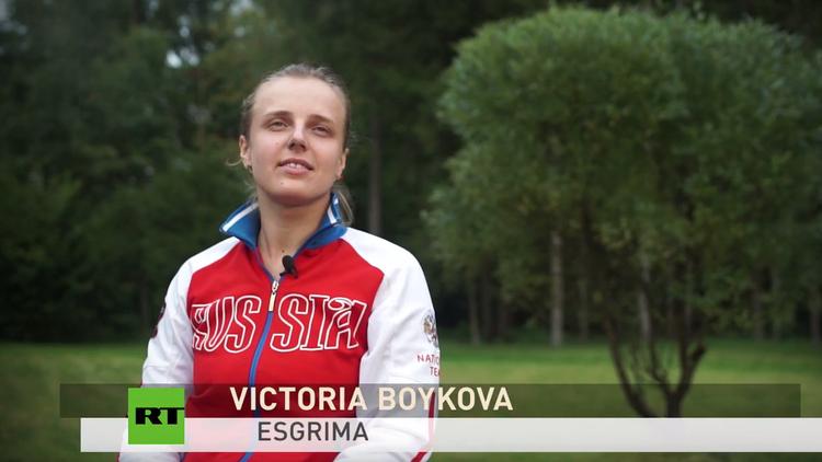 """Esgrimista paralímpica rusa: """"Vamos a seguir adelante"""""""