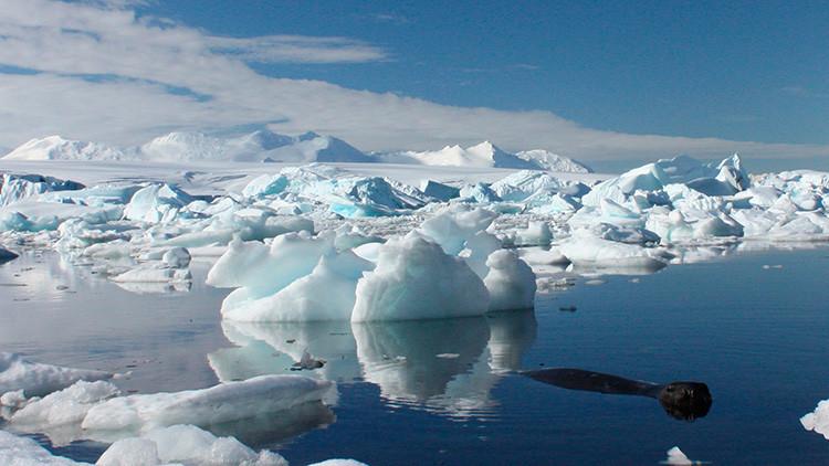 Miles de lagos azules en la Antártida preocupan a los científicos