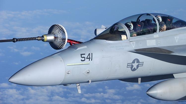 Videos en alta resolución: Aviones de guerra electrónica de EE.UU. contra el Estado Islámico