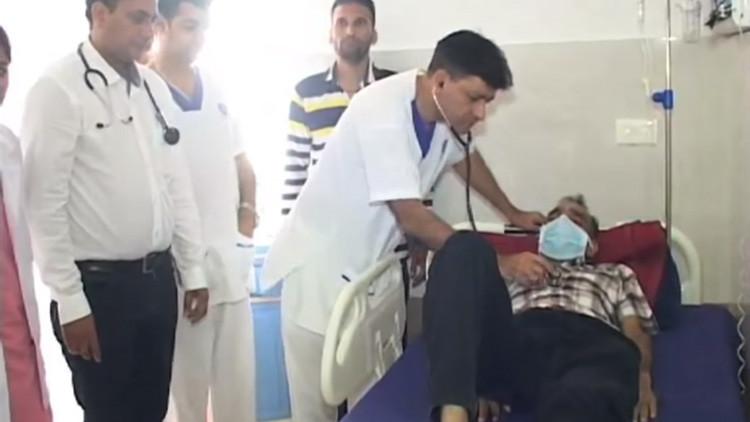 Video: Fue al hospital por un dolor abdominal y esto fue lo que le hallaron