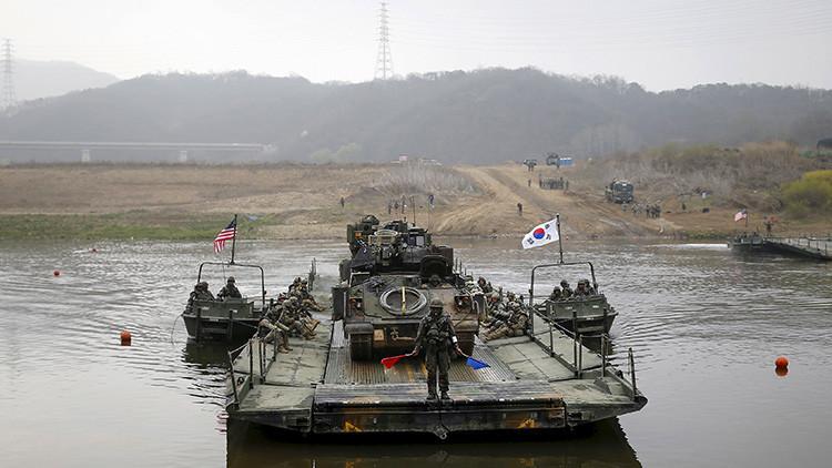 """""""EE.UU. y Corea del Sur buscan 'sofocar' y eliminar a Corea del Norte"""""""