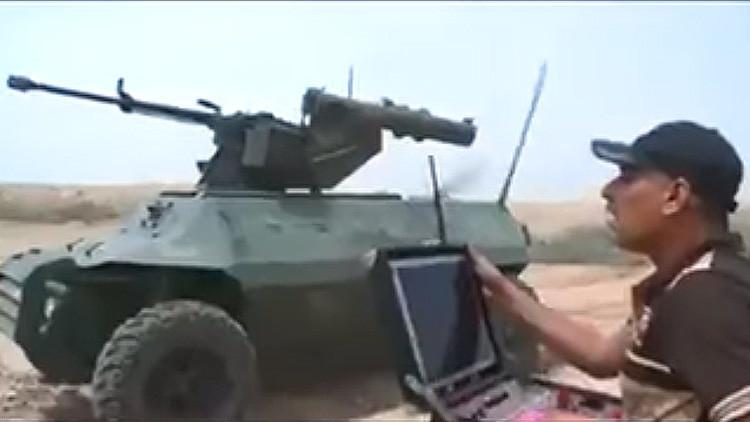 Video: Irak fabrica un robot armado para luchar contra el Estado Islámico