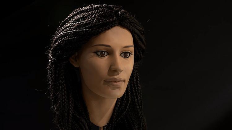 Reconstruyen rostro de joven egipcia momificada hace dos mil años