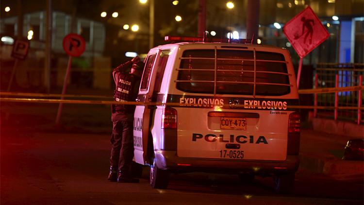 Colombia: Tres artefactos de baja intensidad estallan en Bogotá
