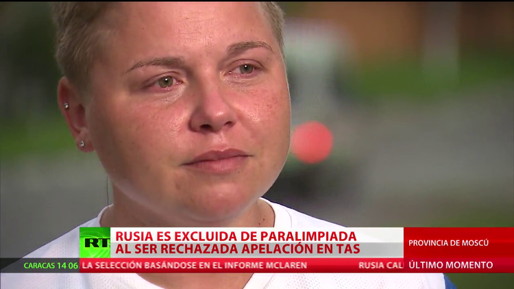El sentido testimonio de una atleta paralímpica rusa tras la exclusión del equipo ruso