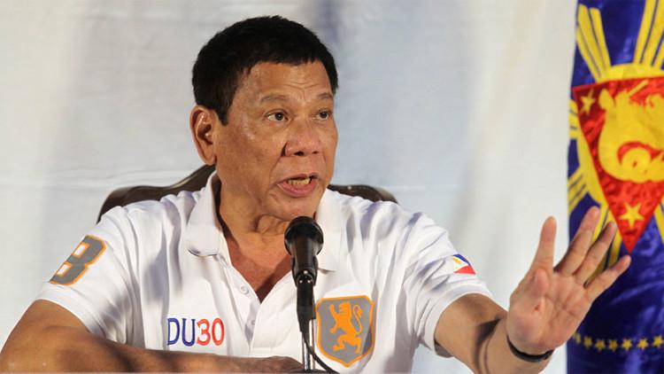 """Basta de intromisiones: el presidente filipino no quiere que las potencias le digan """"qué hacer"""""""