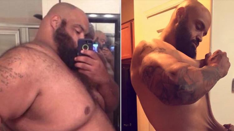 ¿Un supermercado? El 'arma secreta' de un hombre que logró adelgazar casi 150 kilos