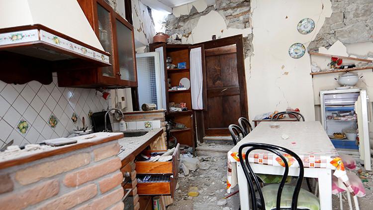 Video: Así vivió Roma el fuerte sismo que devastó el centro de Italia