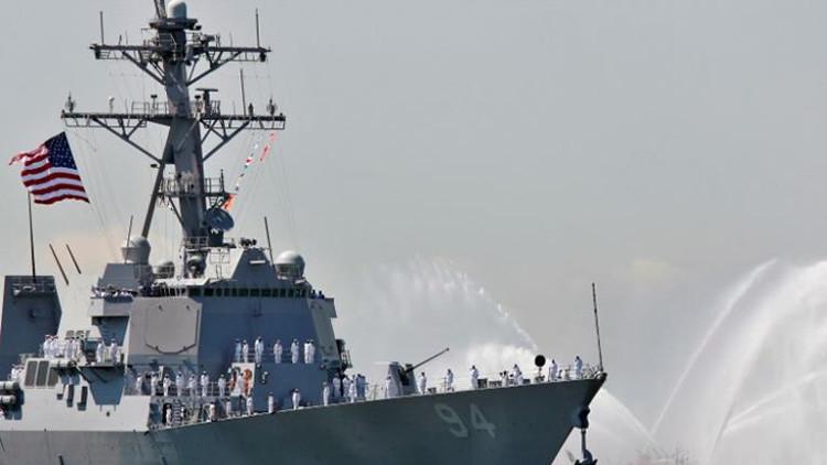 """Irán intercepta a un destructor estadounidense en una """"operación rápida"""""""