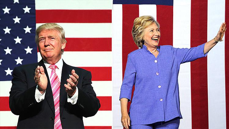 Clinton contra Trump: ¿Quién tiene más dinero para ganar las elecciones presidenciales? (Infografía)