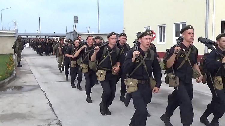 Video: Así es la inspección sorpresa a gran escala de las tropas rusas