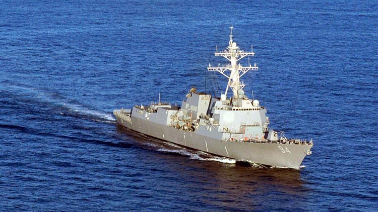 Un buque de EE.UU. advierte con disparos a un barco iraní en el golfo Pérsico