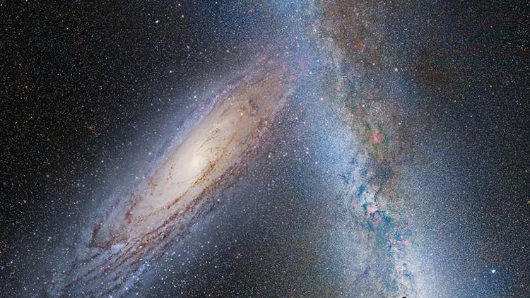 Una galaxia fantasma desconcierta a los científicos