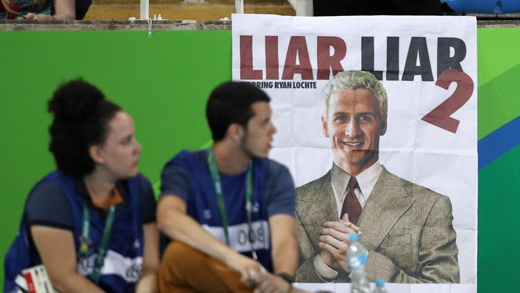 La Policía de Río presenta cargos contra Ryan Lochte por reportar un falso robo