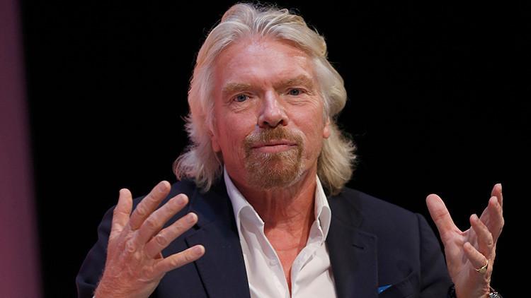 """Pensé que no lo contaba"": Richard Branson a punto de morir en un accidente de moto"