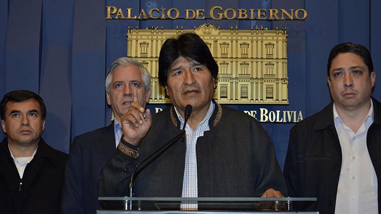 """Evo Morales: """"Otra vez el Gobierno ha derrotado un golpe de Estado"""""""