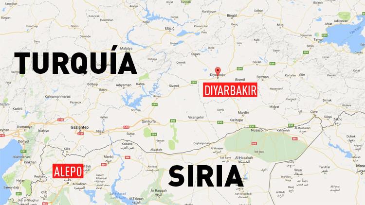 Turquía: Atacan con misiles el aeropuerto de la ciudad de Diyarbakir