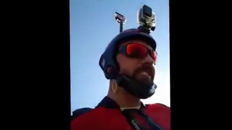 Un saltador base transmite su propia muerte en directo por Facebook (VIDEO)