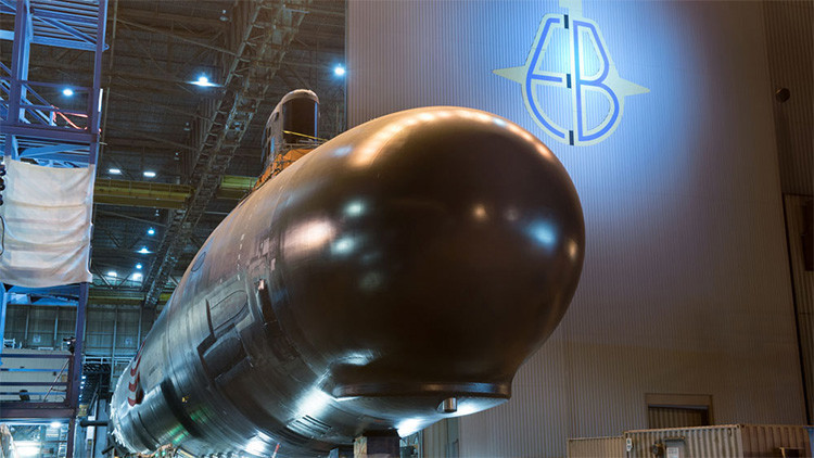 La Armada de EE.UU. adquiere un nuevo submarino por casi 3.000 millones de dólares