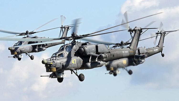 """Llega el 'Cazador Nocturno', el helicóptero ruso que desvía misiles enemigos con """"nubes de fuego"""""""