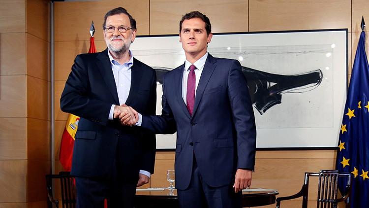 España: El Partido Popular y Ciudadanos alcanzan un acuerdo de investidura