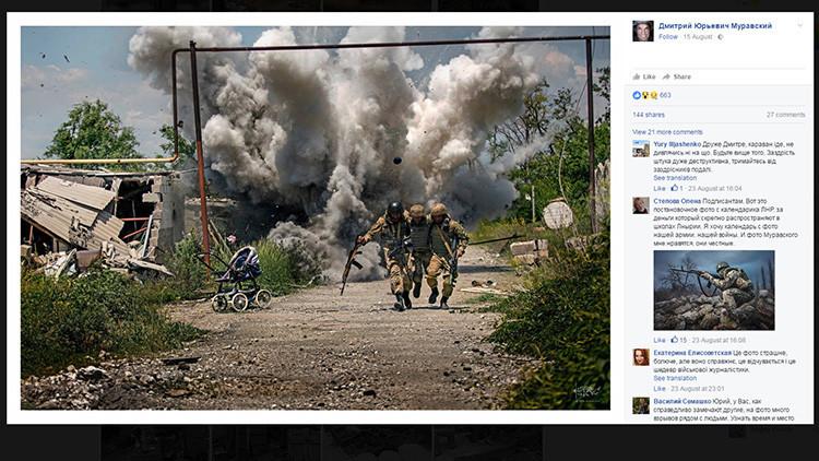 ¿Manipulación o realidad en estado puro? Una foto tomada en Ucrania desata un debate en la Red