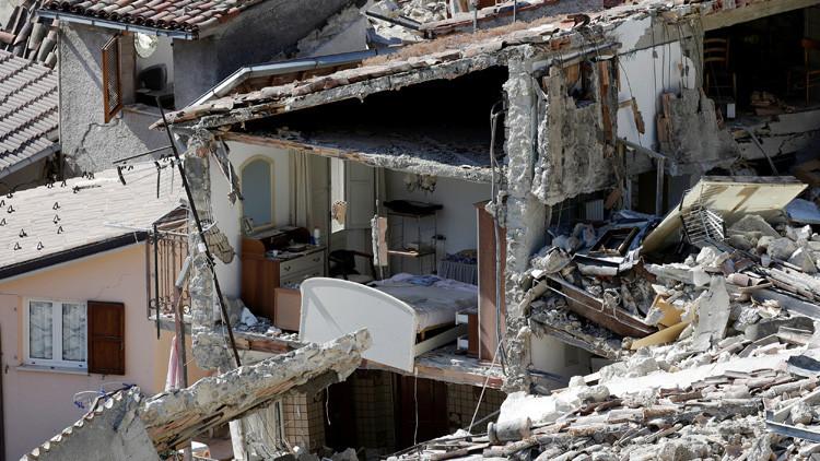 Un desolador terremoto en Italia y otros hechos que marcaron la semana