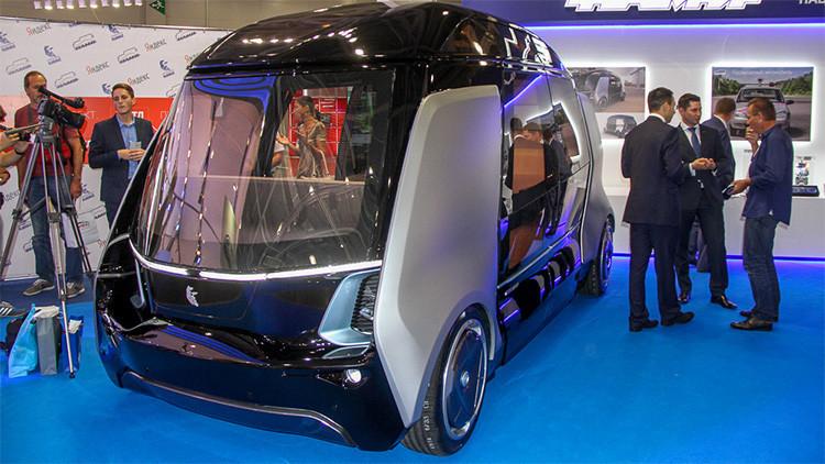 Los legendarios camiones rusos Kamaz evolucionan hacia nuevos autobuses no tripulados