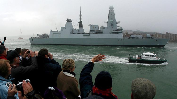 """""""Contribución vital"""": El Reino Unido enviará su destructor HMS Daring al golfo Pérsico"""