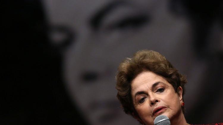 """Dilma Rousseff: """"Temo por la muerte de la democracia"""""""