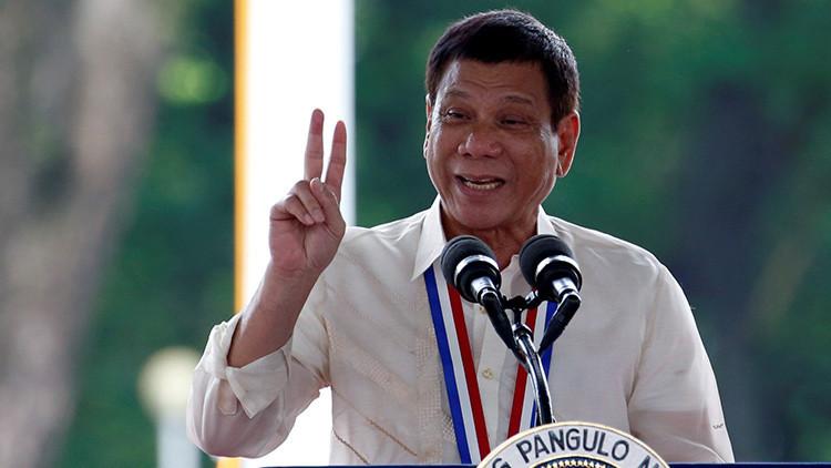 """""""No lanzo bombas"""": El presidente filipino niega que la matanza masiva de narcos sea un """"genocidio"""""""