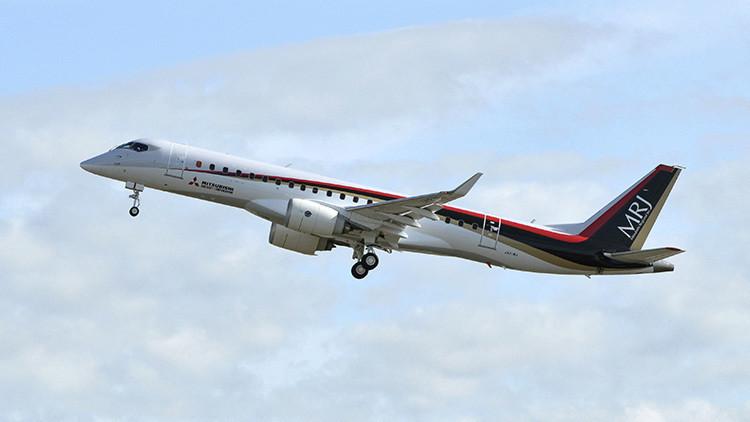 Fin de semana desastroso: el primer avión comercial japonés cancela dos vuelos de prueba a EE.UU.