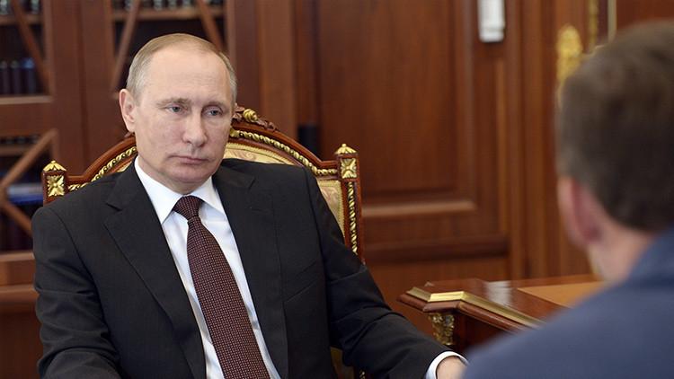 """Putin: """"En el Ártico no hay lugar para juegos geopolíticos"""""""