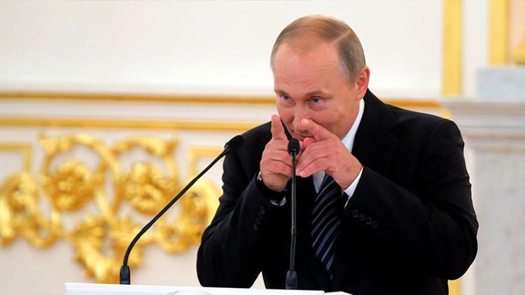 Estudiantes de Eton visitan a Putin antes que Theresa May