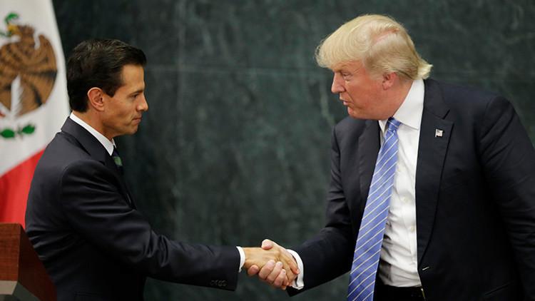 """Donald Trump: """"México no lo sabe aún, pero pagará el muro al 100%"""""""