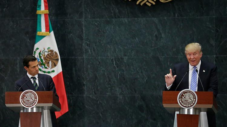 Memes: Indignación en las redes sociales ante la inesperada visita de Trump a México