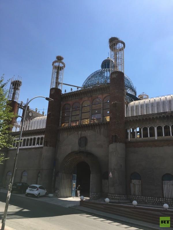Portón de entrada a la catedral.