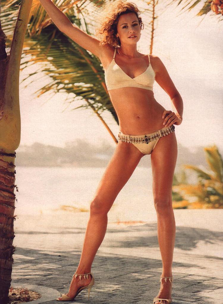 Esther Arroyo posando como modelo, en una imagen de archivo.